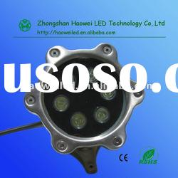 single color 6*1W ,6W led high power underwater light