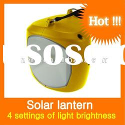 solar camping lantern 1W with 3.2Ah lead-acid deep-cycle battery
