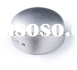 stainless steel butt welded pipe fitting end cap/b16.9