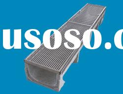 stainless steel drawing grating polymer concreete resin drainage channel