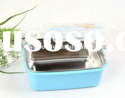stainless steel lunch box with PP lid
