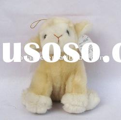 stuffed and plush animal toys, plush standing sheep