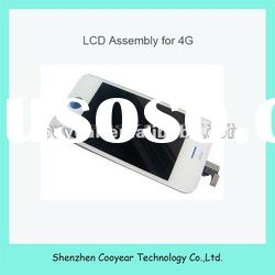 transparent lcd touch screen for iphone 4g lcd,paypal is accepted