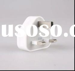 universal usb uk plug travel adapter for iphone DC 5v 1a
