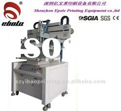 vertical D screen printing machine