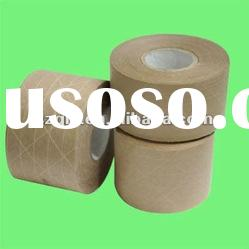 water activated kraft gummed paper tape with SGS and ROHS