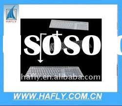 waterproof silicone keyboard cover/ laptop keyboard skin