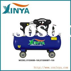 100L 12.5bar 3hp 65mm cylinder B-type ac piston belt-driven air compressor(XY2065BT-100)