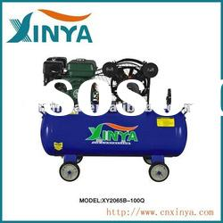100L 8bar 6.5hp 65mm cylinder gasoline B-type ac piston belt-driven air compressor (XY2065B-100Q);