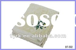 100% Cotton Jacquard with Embroidery Bath Towel