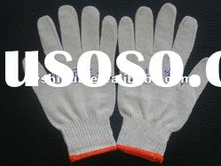 100% knitted cotton gloves