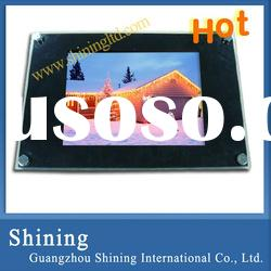 10 inch digital advertising equipment for restaurant with FREE wall mount