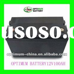 12V 100AH Battery Pack with Plastic case