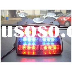 18LED Red and Blue LED Flashing Strobe light (three functions)