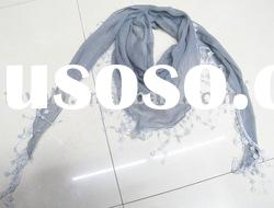 2011 Fashion Lace Polyester Triangle Scarf