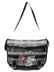 2011 fashion lady cotton fabric messenger bags
