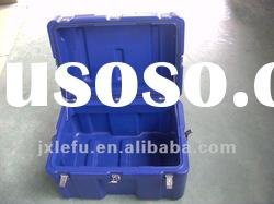 2012 HOT SALE pe plastic equipment case with handle(wheels and foam)