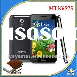 2012 Latest MTK6575 3G WCDMA 5 inch Android 4.0 Smartphone