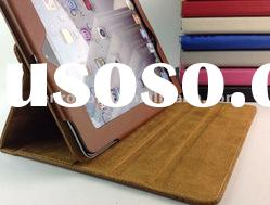 2012 New Arrival Two Colors PU Leather Case for iPad 3