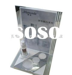 2012 acrylic cosmetics display stand rack