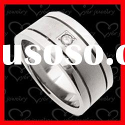 2012 exquistie 3D design stainless steel rings jewelry
