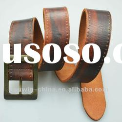 2012 fashion high quality cow leather men's belt