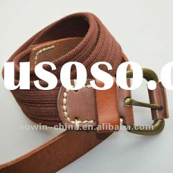 2012 fashion high quality mens canvas belt
