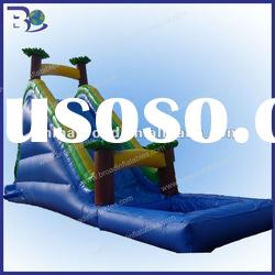 2012 hot sale giant inflatable water slide for adult