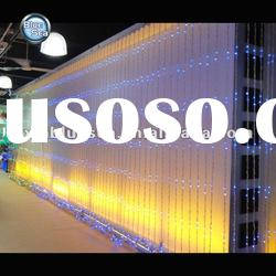 2012 hotsale led holiday curtain light wall