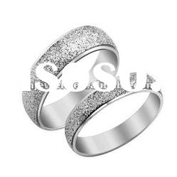 2012 new arrival stainless steel diamond rings