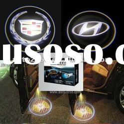 2012 new style 3D car welcome lights,led car logo laser light