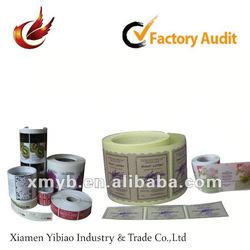 2012 self adhesive hot-sale paper tape printing
