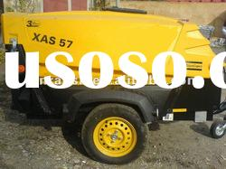 23.3KW XAS 57 Atlas Copco Portable Screw Air Compressor,diesel engine compressor,mobile compressor