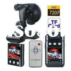 2.0 inch Screen High Definition 720P Vehicle DVR with Remote Control, 4 LED Light, AV OUT