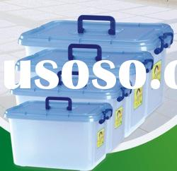 2.5L-23L food grade plastic container with handle