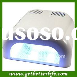 36W professional nail UV lamp Gel curing UV lamp white color with CE