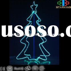 3D Series-LED 3D Chrismas Rope Motif Tree Light