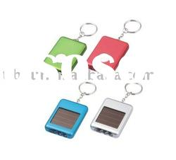 3LED Solar energy saving light with keychain