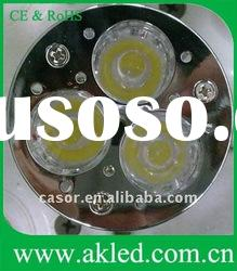 3W High Power LED Spot Bulbs MR16 GU10 E27