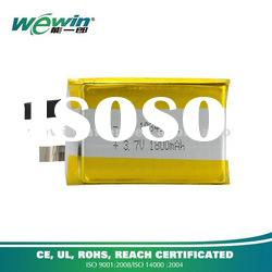 3.7V 1800mAh rechargeable Li-Polymer Battery