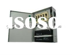 4ch 120W UPS CCTV power supply with battery back up
