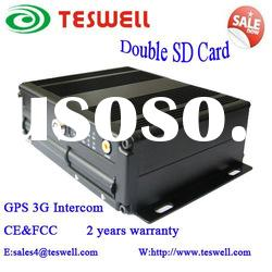 4ch SD Card 3G Mobile DVR Recorder with GPS