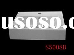 500mm Solid Surface Basin, Modified Acrylic or Polyster Resin