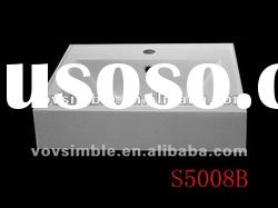 500mm wide Artificial Stone Basin, Acrylic solid surface or Polyster Resin