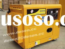 5KVA/6KVA Portable diesel generator set 2%off promotion
