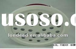 60W LED downlight with high efficacy