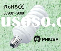 6500k high quality full spiral energy saving lamp
