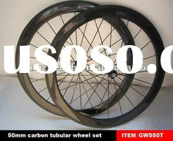 700C carbon fiber bike wheels for road bicycle wheel set 50mm tubular