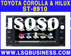 7 inch Toyota Corolla & Hilux Car DVD Player with GPS Navigation system! hot selling!