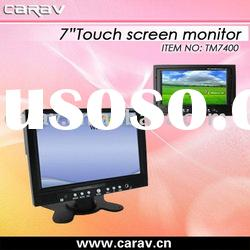 7 inch touch screen monitor/car monitor/car PC monitor/GPS box monitor